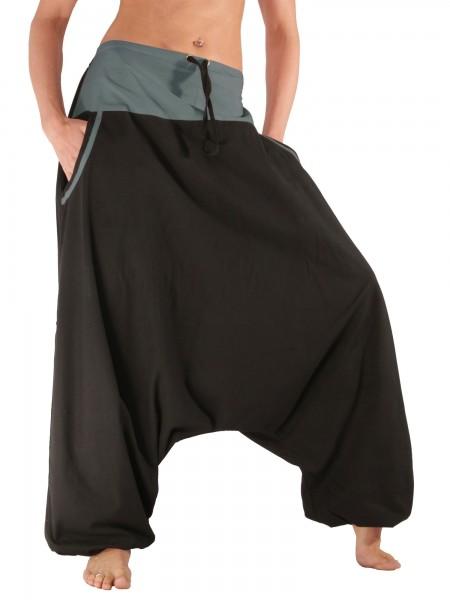Aladinhose mit Taschen, Baumwolle, Modell Nr. P4