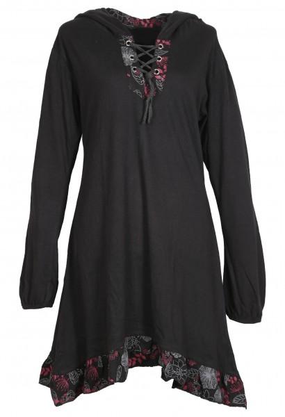 Elfenkleid aus Baumwolle mit Zipfelkapuze, Alternatives Kleid Nr. 73