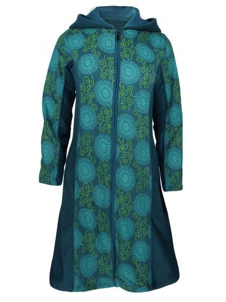 Fleecejacke mit Kapuze für Damen, verschiedene Farben, Modell Nr. 50