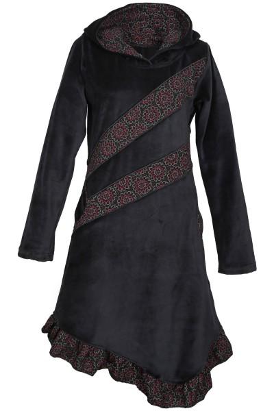 Elfenkleid aus Baumwollsamt mit Zipfelkapuze, Alternatives Kleid Nr. 29