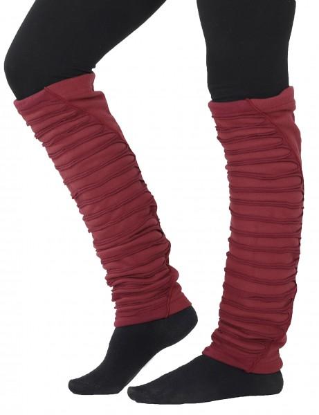 Stulpen aus Fleece und Jersey, Damen Beinstulpen LW2