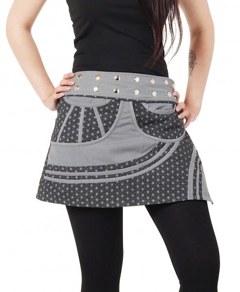 Wickelrock mit Sternenmuster Minirock für Damen Nr. 266