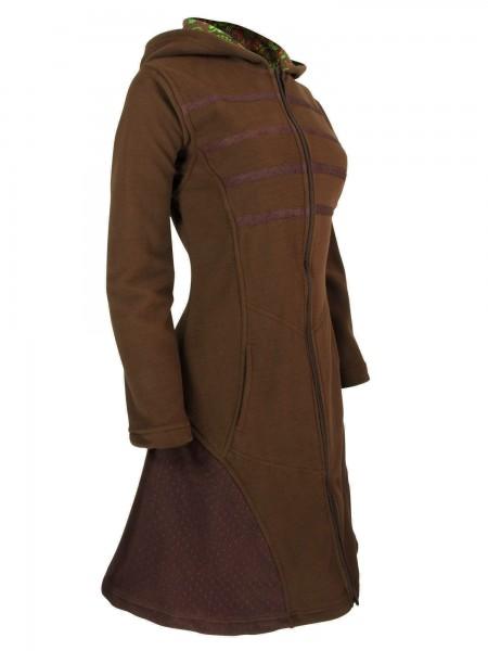 Fleecejacke mit Kapuze für Damen, verschiedene Farben, Modell Nr. 57