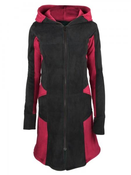Fleecejacke mit Kapuze für Damen, verschiedene Farben, Modell Nr. 13