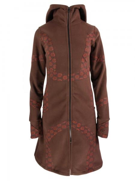 Fleecejacke mit Zipfelkapuze für Damen, Modell Nr. 53