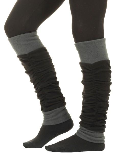 Stulpen Beinstulpen für Damen, Fleece Beinwärmer Nr. 34