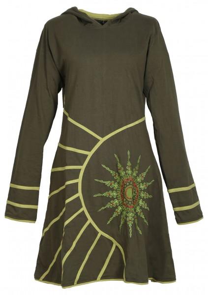 Alternatives Kapuzenkleid aus Baumwolle, Goa Kleid Nr. 77
