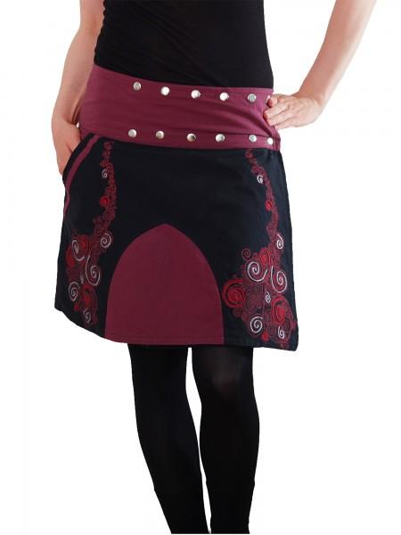 Wickelrock mit Tasche Sommerrock Winterrock für Damen Nr. 111