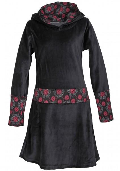 Elfenkleid aus Baumwollsamt mit Zipfelkapuze, Alternatives Kleid Nr. 42
