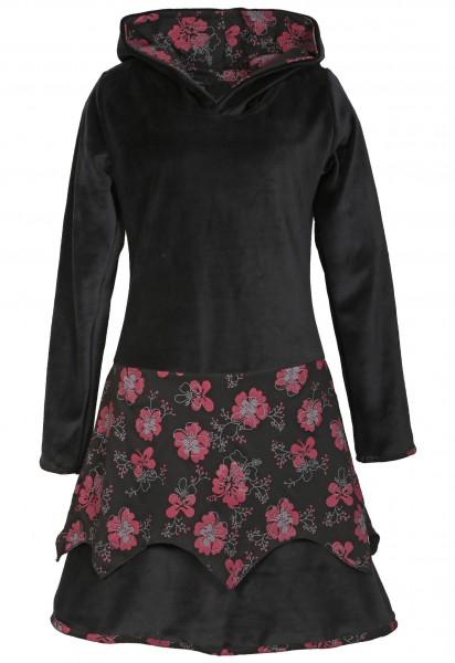 Elfenkleid aus Baumwollsamt mit Zipfelkapuze, Alternatives Kleid Nr. 25