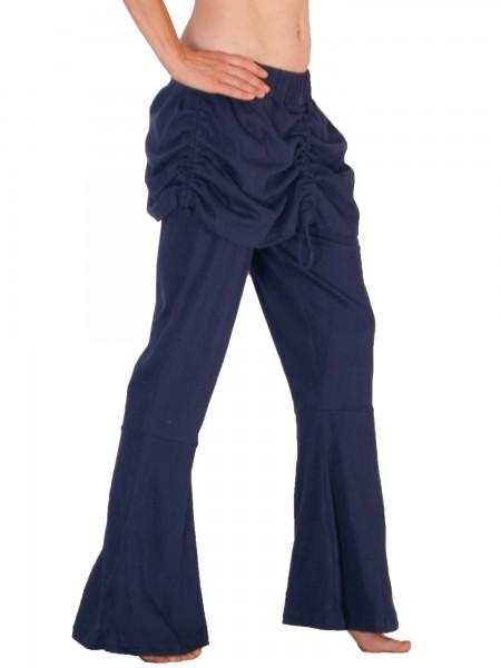 Schlaghose mit Röckchen aus Jersey, Modell Nr. P37