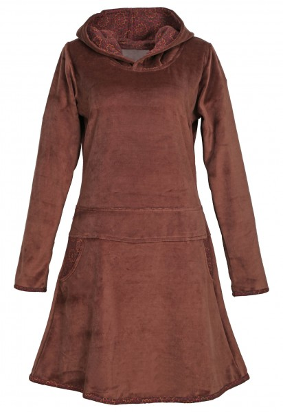 Elfenkleid aus Baumwollsamt mit Zipfelkapuze, Alternatives Kleid Nr. 137