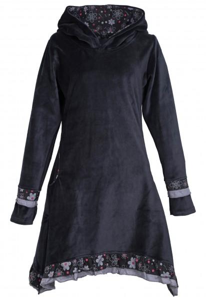 Elfenkleid aus Baumwollsamt mit Zipfelkapuze, Alternatives Kleid Nr. 54