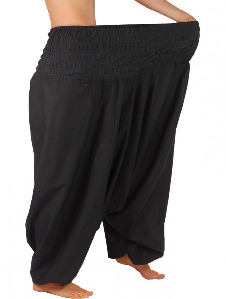 Extragroße Haremshose XXL Aladinhose für Damen und Herren