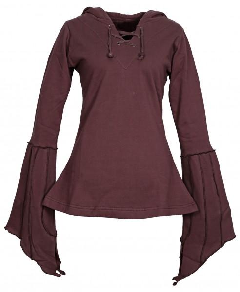 Tunika aus Baumwolle mit Kapuze Kleid Nr. 110