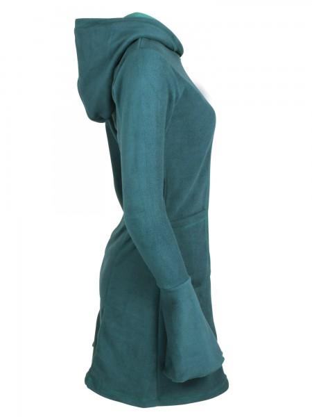 Fleecekleid mit Kapuze, Winterkleid in verschiedenen Farben Nr. 11