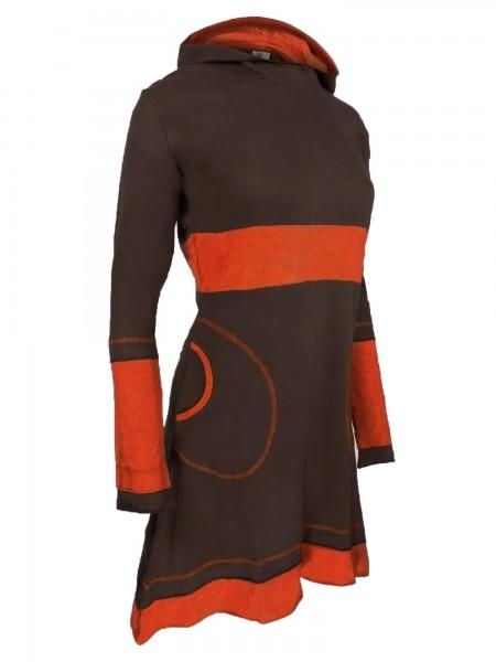 Kleid aus Baumwolle mit Kapuze, verschiedene Farben, Nr. 37
