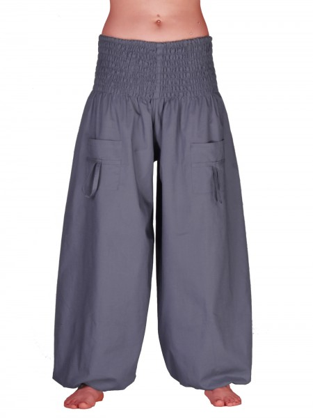 Pocket Pumphose unisex mit Taschen, 100 % Baumwolle