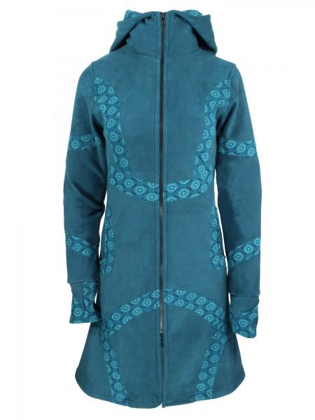 Fleecejacke mit Zipfelkapuze für Damen, verschiedene Farben, Modell Nr. 53