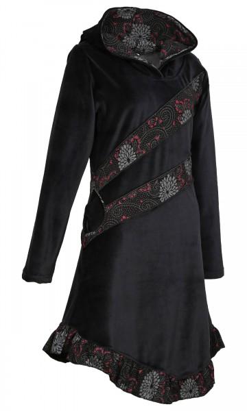 Elfenkleid aus Baumwollsamt mit Zipfelkapuze, Alternatives Kleid Nr. 28