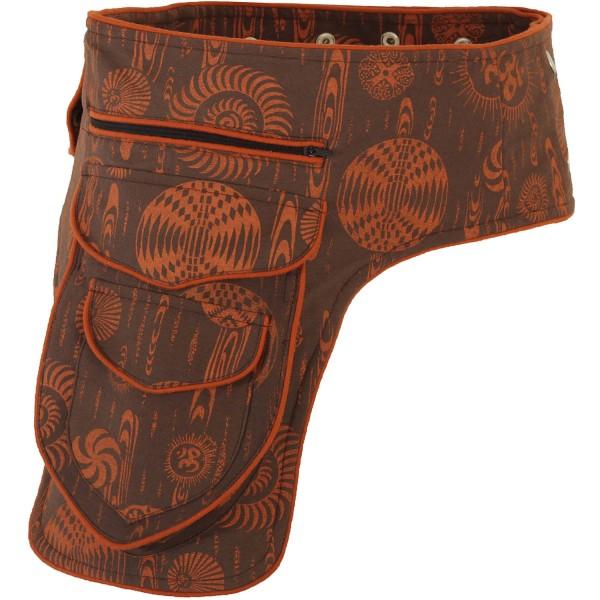 Goa Hüfttasche bedruckt, Gürteltasche Nr. 2