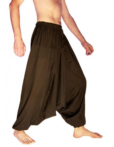 Haremshose, Aladinhose für Herren, Extralang