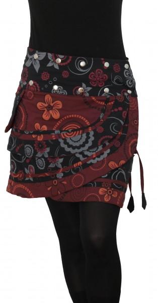 Wickelrock mit Tasche, Minirock für Damen, Nr. 182