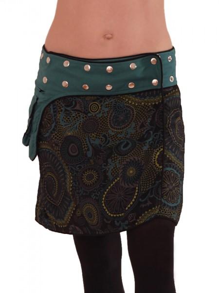 Wickelrock mit Tasche und Druckknöpfen, Goa Modell Nr. 100